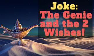 Joke: The Genie and the 2 Wishes