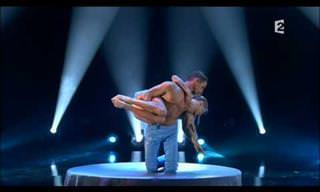 This Duo's Acrobatic Performance Will Leave You Speechless
