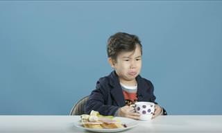 Hilarious: American Kids Trying Foreign Breakfasts