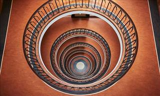 Peering Down These Spiral Staircases Does Something to You