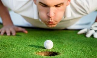Joke: The Special Golf Ball