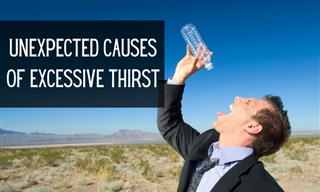 Health: Here's Why You're Feeling Parched All Day