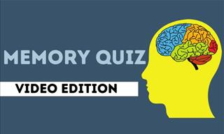 Quiz: Watch a Video and Test Your Memory!