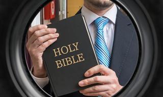 The New Bible Salesman