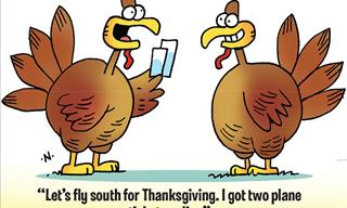 Thanksgiving Jokes: 60 Hilarious Short Jokes and Puns!