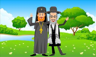 A Priest and a Rabbi Buy a Car