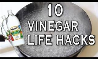 Vinegar Has Many Different Uses Around the House!