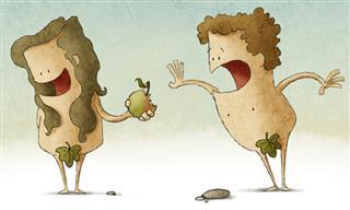 Joke: Adam and Eve's Nationality