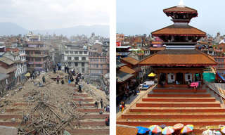 Nepal - Before and After the Earthquake