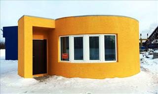 A 3D-Printed House That's a World First