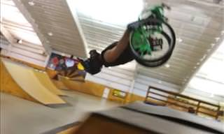 Amazing Wheelchair Freestyling by Aaron Fotheringham