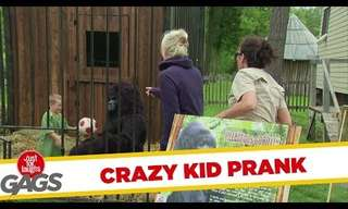 Stop You Crazy Kid - Great Silly Prank!
