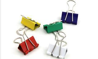 15 Great Uses for Binder Clips