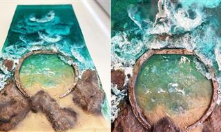 14 Mesmerizing Cakes That Look Just Like Paradise Islands!