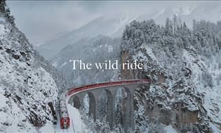 Wow! What a Fascinating Train Ride Through the Swiss Alps