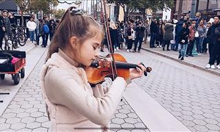Unbelievable! 11 Year Old Violinist Plays Celine Dion