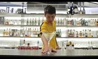 Amazing: The Martial Arts Bartender.