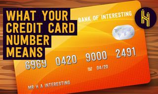 The Secret Meaning of the 16 Digits on Credit Cards
