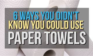 6 Ways You Didn't Know You Could Use Paper Towels