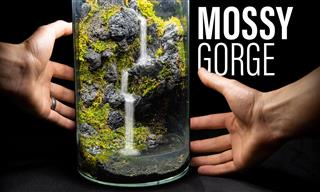 How to Build a Beautiful Miniature Waterfall From Scratch