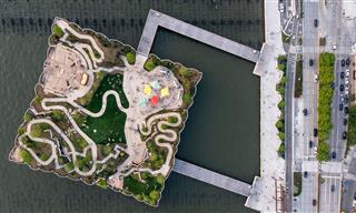 Why New York's New Park On the Water Is a Miracle Of Sorts