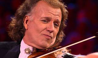 André Rieu's Rendition of This Song Brings Me to Tears