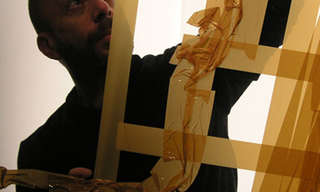 The Incredible Tape Art of Mark Khaisman