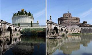 What 11 Ancient Roman Ruins Looked Like In the Past