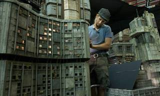 The Miniature Film Set Used for Blade Runner 2049