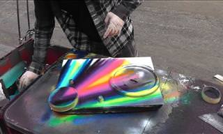 A Street Artist From NYC Makes Magic With Spray Paint