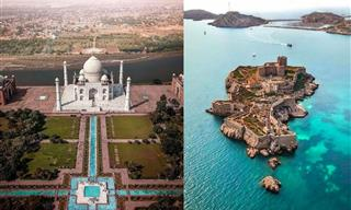 These Aerial Photos Are Like a Free Trip Around the World