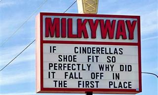 Ice Cream Shop Cracks Everyone Up With Their Funny Signs!