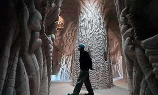 Underground Caverns Turned into Art