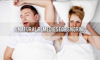 6 Natural Remedies to Prevent Snoring