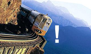 15 Most DANGEROUS Train Routes In the World