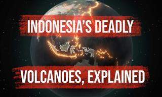 The Reason Indonesia Is Home To SO MANY Active Volcanoes