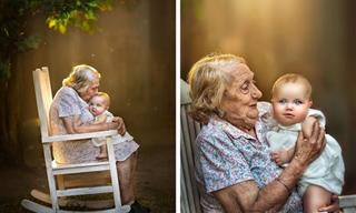 12 Heartwarming Photos Depicting a Grandma's Love