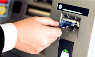 Man Becomes Suspicious of ATM and Discovers Skimmer