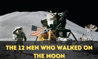 These Are the Only People to Have Stepped On the Moon