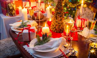 Etiquette Guide: How to Set Up a Beautiful Christmas Table