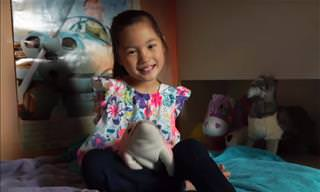 7 Year Old Girl Born With Disability Overcomes the Odds
