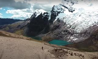 A Breathtaking Journey Above the Andes Mountains of Peru