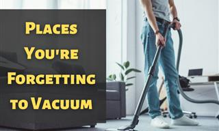 9 Places in Your House You Should Be Vacuuming More Often