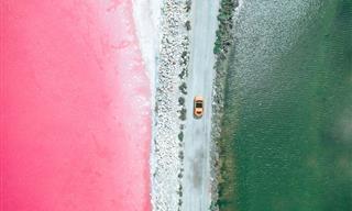 14 Aerial Photos of France's Unbelievable Salt Fields