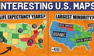 Explaining 12 Fascinating Maps of the United States