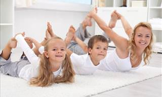 14 Easy Yoga Poses Your Kids Will Love
