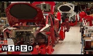 Have You Ever Seen the Incredible Production of a Tesla S?