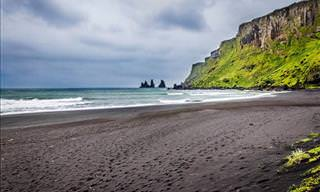 Beautiful Black Sand Beaches