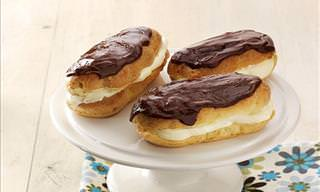 A Delicious Chocolate Eclair Recipe