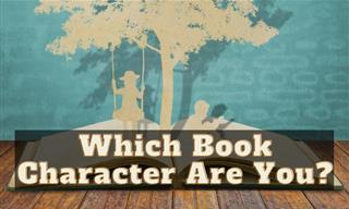Quiz: Which Book Character Are You?